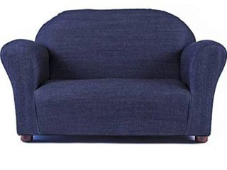 Keet toddler roundy sofa denim blue
