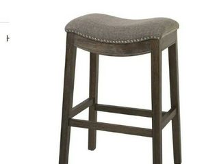 Grove Bezons Saddle Seat 30 in  Bar Stool