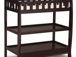 Delta Children Infant Changing Table with Pad   Dark Chocolate