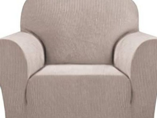 Poplar Grove Aridal Soft Stretch Fabric Chair Cover
