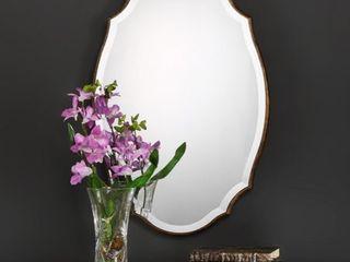 Aubrey beveled mirror
