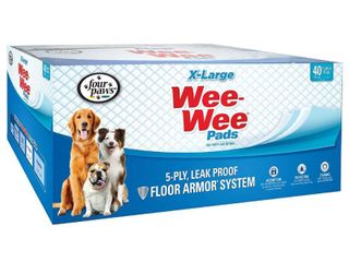 Four Paws Xl Wee Wee Pads  28 in x 34 in  40 count