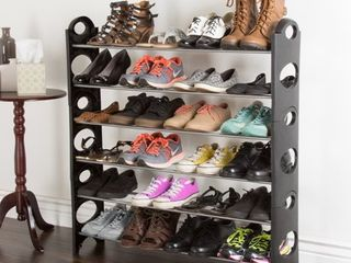 6 Tier Space Saver Shoe Rack by Everyday Home