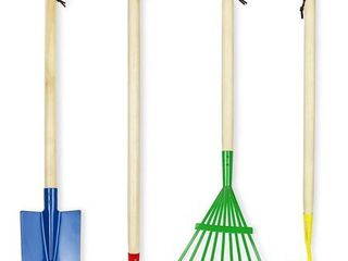 Click N Play Kids 4 Piece Big Gardening Tool Set