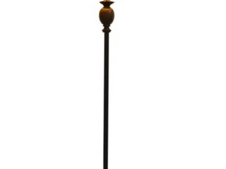 61 in Decor Therapy Bronze Floor lamp