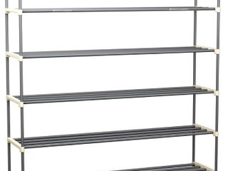 Home Complete HC 2104 Shoe Rack with 5 Shelves Five Tiers for 30 Pairs