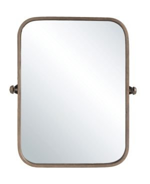 24  x 20 5  Decorative Pivoting Wall Mirror Copper   3R Studios