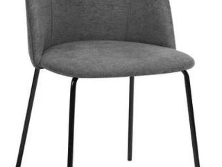 Pair of Carson Carrington Idemala Dining Chair Dark Grey