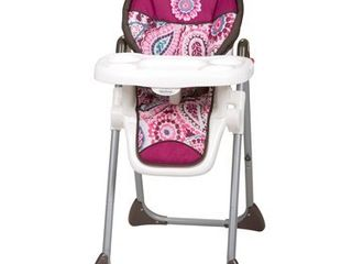 Baby Trend Sit Right Adjustable High Chair  Paisley