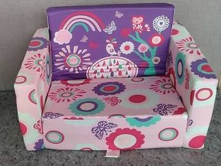 Mallbest Children s Flip liner Rose Red Chair With Side Pockets