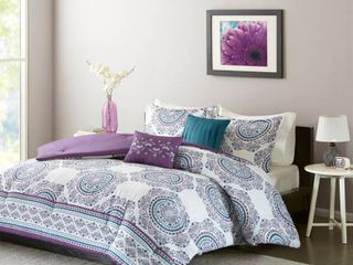 Home Essence Apartment Camryn Medallion Printed Comforter Set