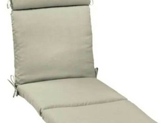 Arden Selections New Tan leala Texture Outdoor Chaise Cushion