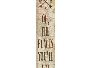 Teacher Created Resources TCR8632 Oh The Places Youll Go Banner Travel The Map