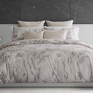 Vera Wang Marbled Duvet Cover  King