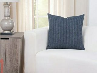 Carson Carrington Aarhus Deep Blue Accent Pillow   16 x 16