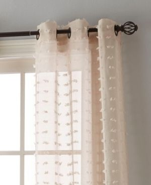 Payton 37  X 84  Pair of Grommet Top Curtain Panels