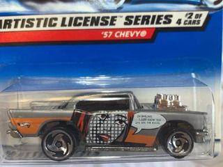 Hot Wheels 57 Chevy Artistic Series
