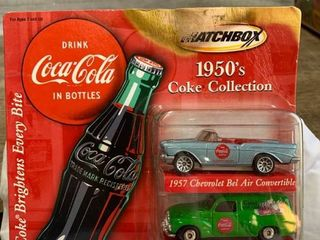 Matchbox 1950 Coke Collection