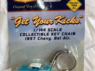 Route 66 Bel Air key chain