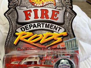 Hot Wheels fire dept bel air