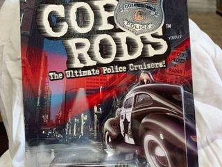 Hot Wheels cop rods