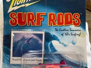 Johnny lightning Surf Rods
