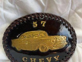 Belt Buckle leather custom made