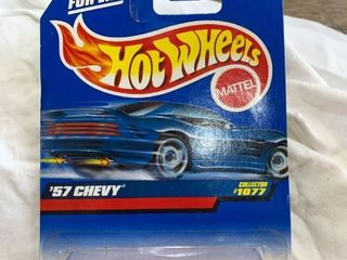 Hot Wheels 57 chevy   1077