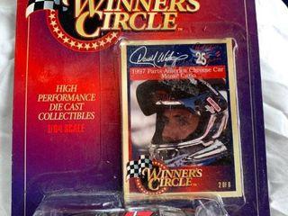 Winners Circle 1997 Parts America Chrome Car Monte Carlo Darrell Waltrip Diecast