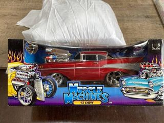 1 18 Ertl Muscle Machines 57 Chevy