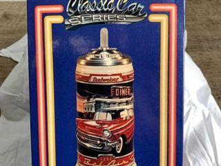 Budweiser Classic Car Series 1957 Chevrolet Bel Air Collectors Mug Stein W Box