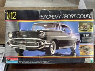 Monogram 57 Chevy Coupe 3 N 1 1 12 Scale Model Kit
