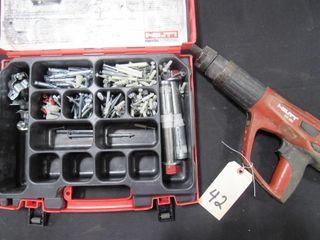 Hilti DX460 Fastener w/ Anchor Kit Box