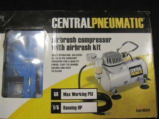 Central Pneumatic Airbrush Compressor
