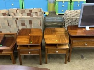 4 Piece Somerton Living Room Tables, Props Tv