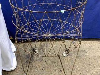 Vintage Grocery Basket 22x29