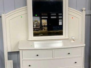 Dresser, Mirror, Full / Queen Headboard