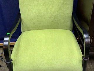 Mint Green Arm Chair 27x30x38