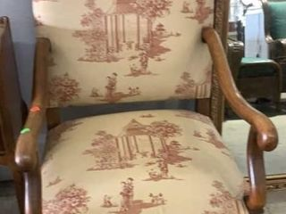 French Louis Xiv Style Arm Chair: The French