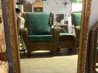 Gold Framed Mirror 24x36