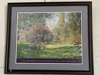 The Metropolitan Museum Of Art Framed 49x41