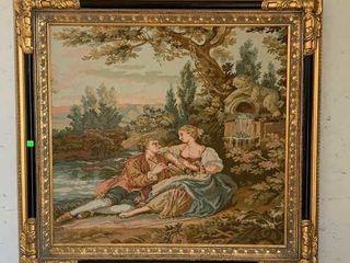 Framed Tapestry 36.5x34