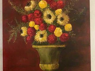 O/c Flowers In Vase C. S. Powell 2003 30x40