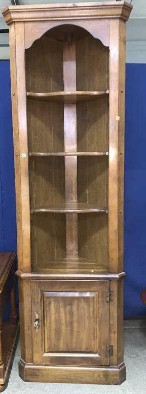 Wooden Corner Cabinet 22.5x15x72