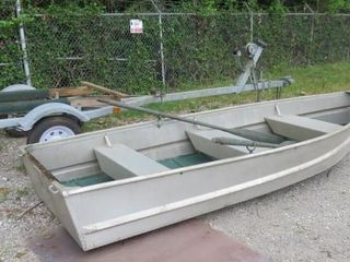 1988 Trailer With Boat- Trailer Make: B M