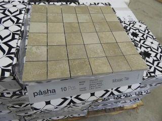 Shaw mosaic tile - ceraforge iron - 140 pcs.