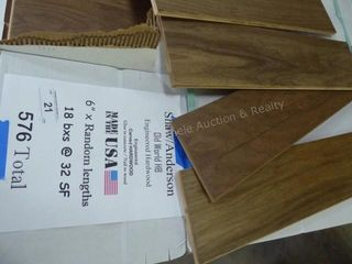 Shaw/Anderson engineered hardwood - old world HB -