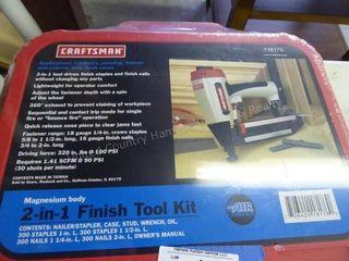 Craftsman 2-in-1 finish tool kit