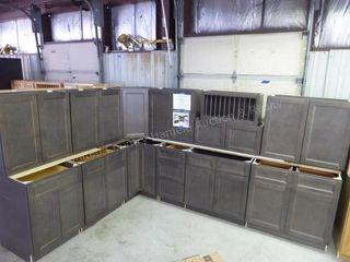 West Point gray 14 pc. kitchen set