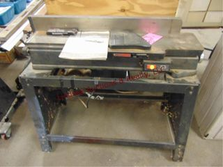 Sears Craftsman 6 1 8  joint planer on stand